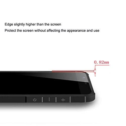 Xiaomi mi6 Funda, Calidad Premium Cubierta Delgado Caso de TPU Silicona Funda Protective Case Cover para Xiaomi mi6 Negro