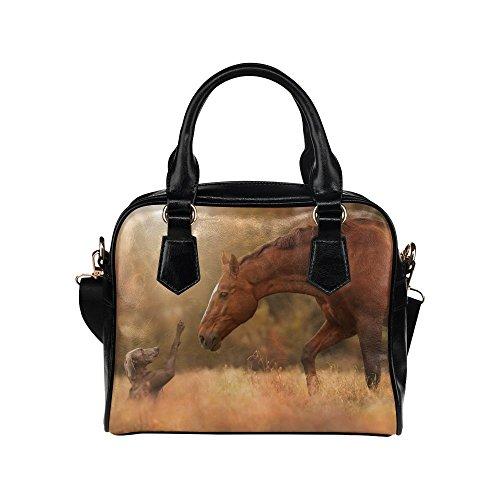 slsend-womens-horse-meets-dog-leather-shell-shoulder-handbag