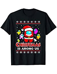 Funny Christmas Costume Among stars Game Us Vintage T-Shirt