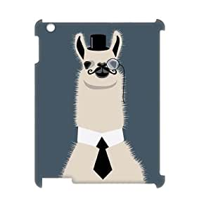 Llama DIY 3D Case Cover for iPad2,3,4 LMc-05555 at LaiMc