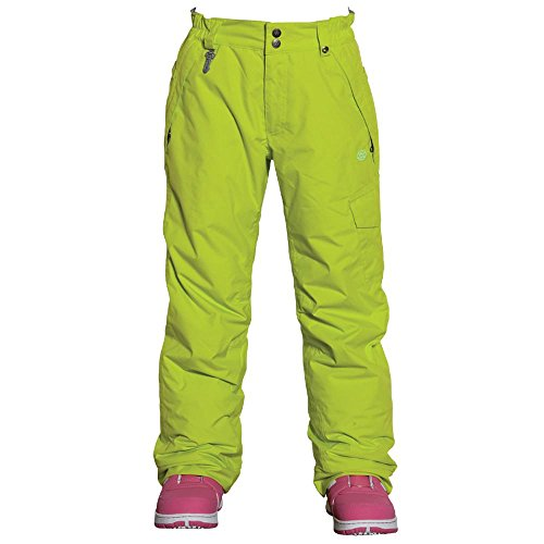 686 Girl's Authentic Misty Pant Hot Lime by 686