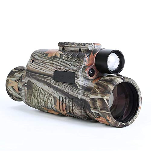 """Night Vision Monocular 5X40 Night Vision Infrared IR Camera HD Digital Night Vision Scopes with 1.5"""" TFT LCD Take Photos and Video Playback Function and TF Card for Hunting"""