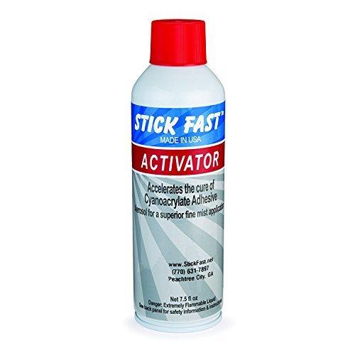 Stick Fast Aerosol Activator - Glue Accelerator Ca