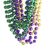 Mardi Gras Disco Ball Beads 1 dozen
