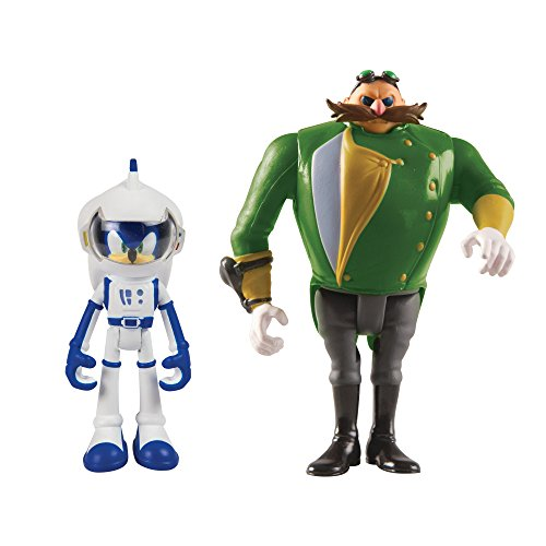 TOMY Sonic Boom 2 Figure Pack, Spacesuit Sonic and Parallel Universe Villain