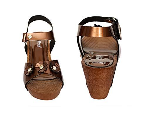 Dolphin Miles Women's Fashion Sandals, 47492cop-$Parent SKU