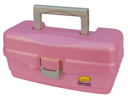 pink fishing tackle box - 8