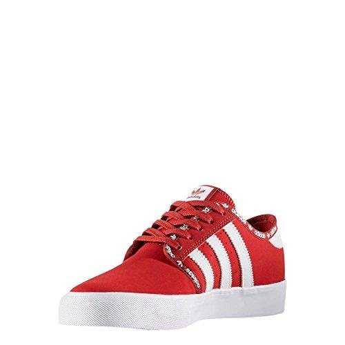 adidas SEELEY J - Zapatillas deportivas para Niño, Rojo - (ROJMIS/ROJMIS/FTWBLA) 40