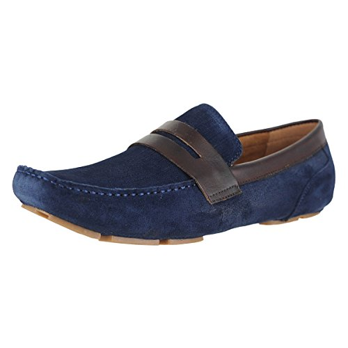 Kenneth Cole Nueva York Swing Driver Navy