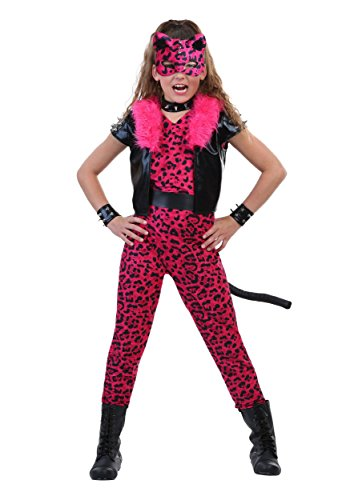 Tween Pink Party Leopard Costume X-Large