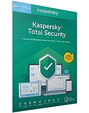 Kaspersky Total Security 3 Licencias 2 Años   PC/Mac/Android   Codigo en en paquete [windows_10,windows_8_1,windows_7,mac_os_x,android]