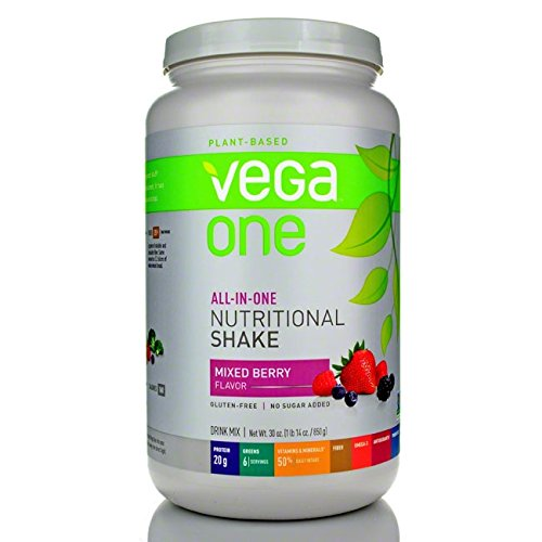 Vega Nutritional Shake Berry, 30oz - Men's