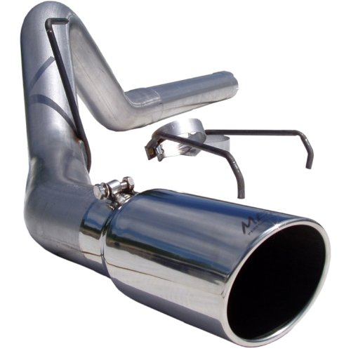 MBRP S6120AL Aluminized Filter Back Single Side Exit Exhaust (Side Exit Exhaust Kit)