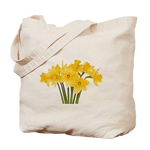 On White Shopping Bag Cloth Bag Daffodils Canvas Natural CafePress Tote wU5xnq6SB1