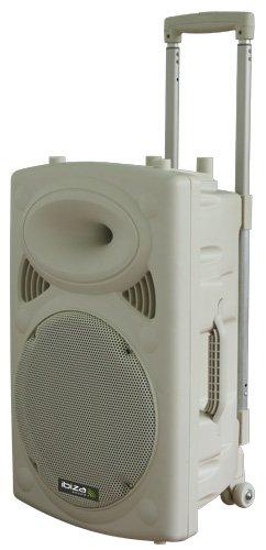 504 opinioni per Ibiza PORT12VHF-BT-WH Impianto audio portatile cassa attiva (700 Watt, ingressi