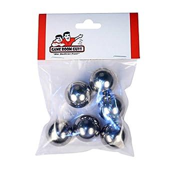 Twenty 1-1//16 Inch Mirror Finish Carbon Steel Replacement Pinball Machine Balls