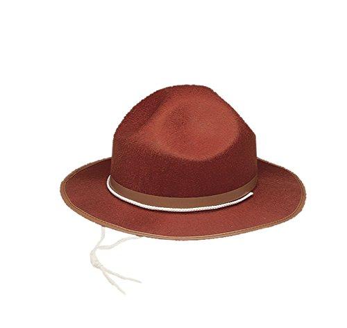 Mountie Hat Costume (Jacobson Hat Company Permafelt Mountie)