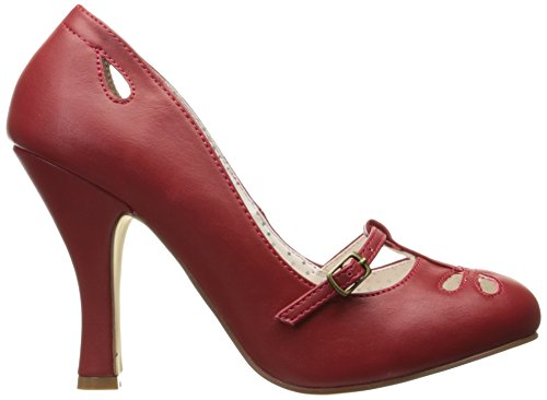 Faux Red Couture Pin Leather SMITTEN 20 Up fpzWfwxnv