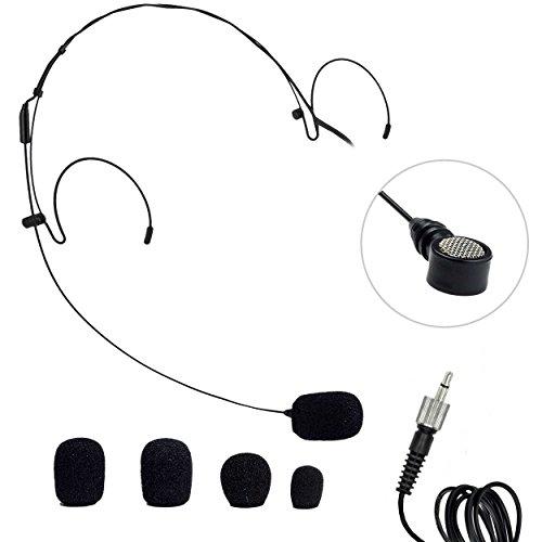 Nady HM-20U Headset Microphone Black 3.5 MM
