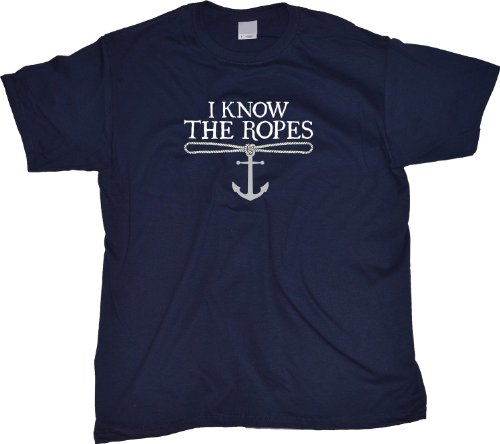 Ann Arbor T-Shirt Co. Men's I Know The Ropes T-Shirt