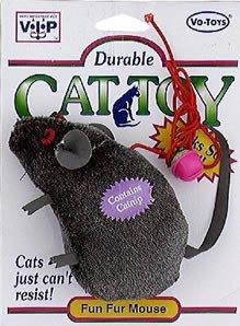 """UPC 075726001549, Vo-Toys 154 3"""" Plush Mouse Cat Toy Cat & Dog Toy"""