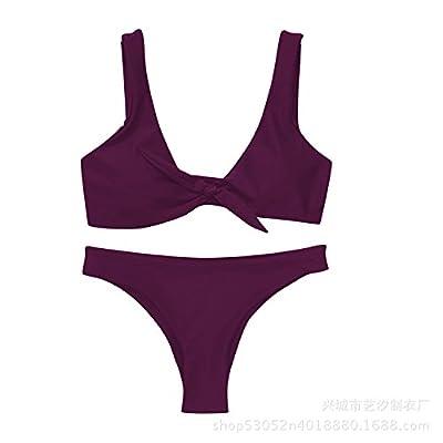 Maillot de bain bikini moderne et confortable - les tendances de la mode bikini maillot de bain moderne et confortable de type split, maillot de bain, le rouge ,M