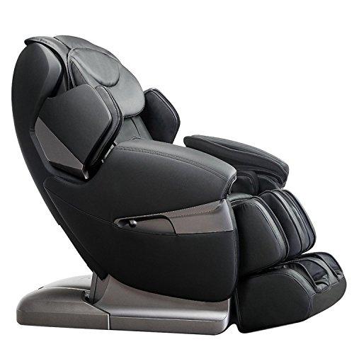 Apex AP-Lotus Electric Full Body Massage Chair, Zero Gravity Position, Innovative Negative Oxygen Ion Ionizer (Black)
