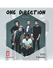 One Direction 2022 Calendar: 16-month Mini Calendar 2022 with Large Grid for Note - To do list, gorgeous 7x7'' Small Calendar, Non-Glossy Paper