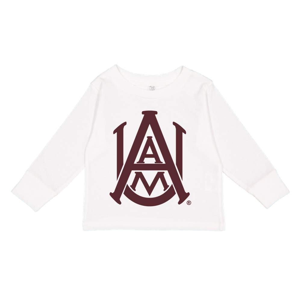 NCAA Alabama A/&M Bulldogs PPAMU01 Toddler Long-Sleeve T-Shirt