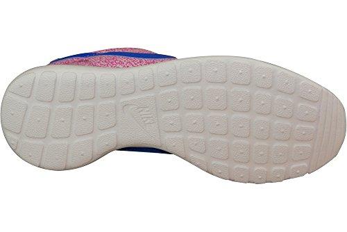Nike Wmns Nike Rosherun Print, Baskets Basses femme Blanc - Weiß (Weiß 137)