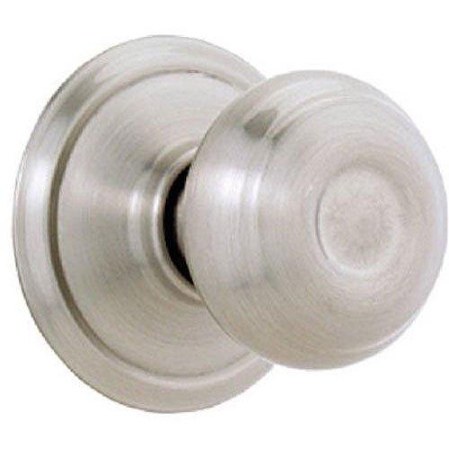 Georgian Interior Dummy Knob (SCHLAGE LOCK CO F170V GEO 619 Geo Dum Lockset, Satin Nickel)