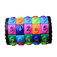 Kukakoo Best Kids Puzzle Toy, Fun Activity, Set for Ages 3 4 5 6 7 8 9 10 Year Old Boys & Girls - Creative Mathematical Figures Digital Magic Puzzle Cube Game Education Kids Toy