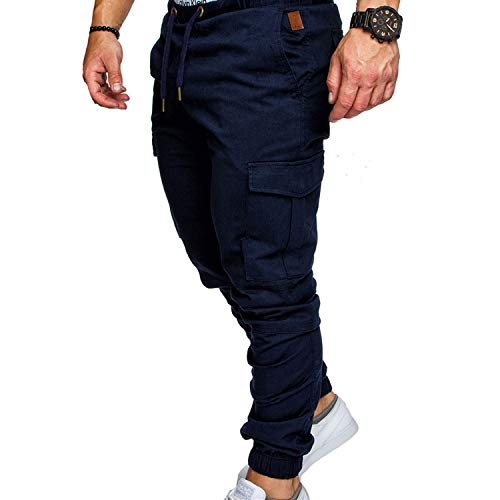 Pants Men Cotton Clothes Hip Hop Streetwear Joggers for sale  Delivered anywhere in USA