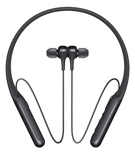 Sony WI-C600N Wireless Noise Canceling in-Ear Headphones, Black (WIC600N/B)