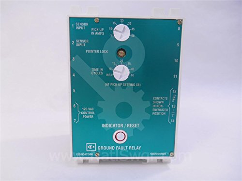 Ground Fault Relay (1293C47G06 - CH GFR GROUND FAULT RELAY)