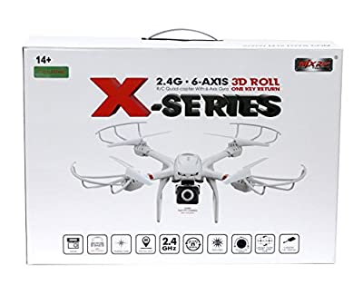 Helizone FPV Drone HD Camera Live Video 720p Wifi Quadcopter with One Key Return, Headless Mode, VR Compatible from Helizone