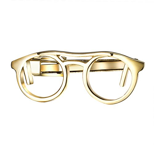 Vintage Gold Tone Link - Yoursfs Eyeglass Cuff Links Vintage Gold Tone Secretary Glasses Costume Jewelry Men's Accessory