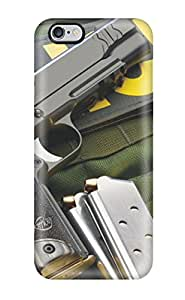 Durable Defender Case For Iphone 6 Plus Tpu Cover(gun)