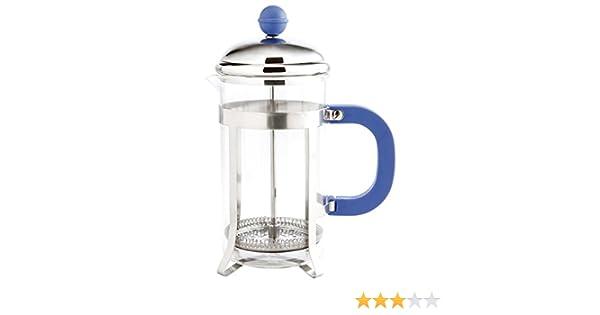 Quid Fiona - Cafetera émbolo, 350 ml, color azul: Amazon.es: Hogar