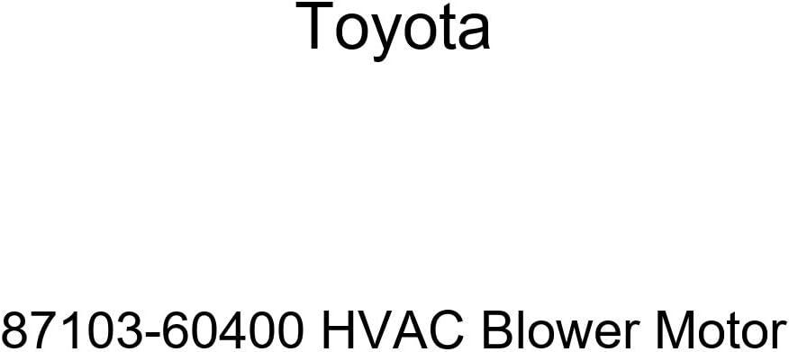 Toyota 87103-60400 HVAC Blower Motor