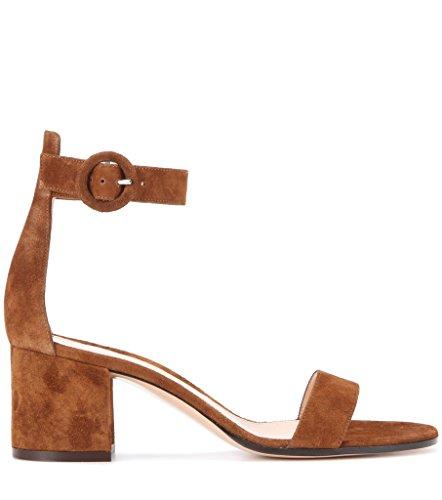 elashe - Tira de tobillo Mujer marrón