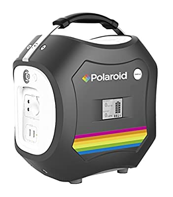 578Wh Polaroid PS600 Portable Power Supply Everywhere, Mobile AC / DC Outlet, Light & Easy Generator Lithium Ion Battery Energy Storage System Station, Backup / Emergency, Rechargeable (Home / Solar)