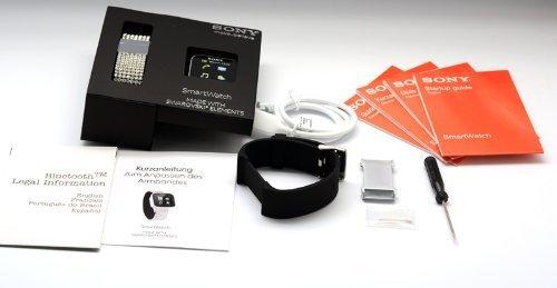 Amazon.com: Sony mn2 Bluetooth Smart Watch elementos de ...