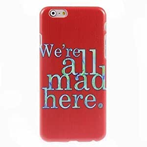 (CASE) We Are All Mad Here Design Hard Case Cover For SamSung Galaxy Note 3