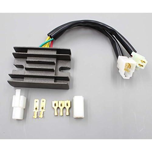 -6 Fragola 480606-BL Black Size AN Plug