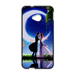 HTC One M7 Cases Cell phone Case Ydfok Love and passion Plastic Durable Cover