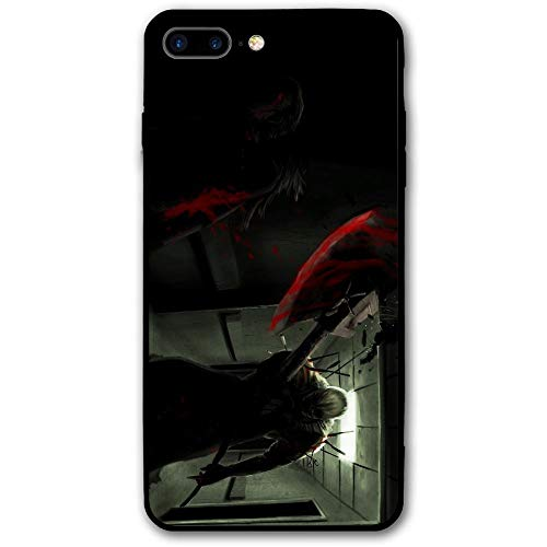 Happy Halloween Demon with Axe.JPEG iPhone 8 Plus Case, iPhone 7 Plus Case, Ultra Thin Lightweight Cover Shell, Anti Scratch Durable, Shock Absorb Bumper Environmental Protection Case Cover