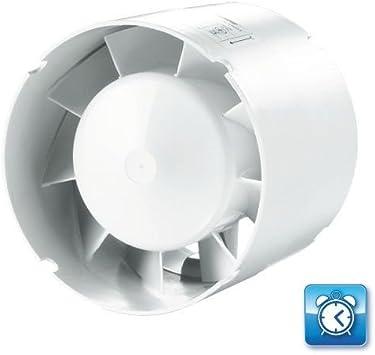 Ventilador de tuberías (con temporizador): Amazon.es: Bricolaje y ...