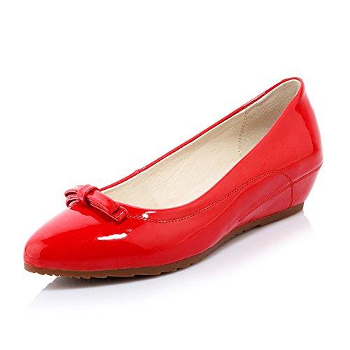 zapatos de moda dama guisantes/Rollo de huevo zapatos/En zapatos de alto arco acentuado/Zapatos de cuñas B