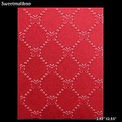 WANCHEN Geometry Butterfly dot Board line Embossing Folder Plastic Dies Scrapbooking Paper Card Making Craft Envelop Album Decor